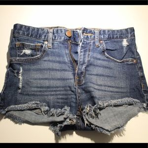 Cute jean shorts from H&M